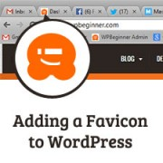 How to Add a Favicon in WordPress