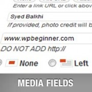 How to Add Additional Fields to the WordPress Media Uploader