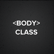 WordPress Body Class