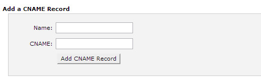 Adding a CNAME record in cpanel for WordPress Hosting
