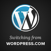 Switching from WordPress.com to WordPress.org