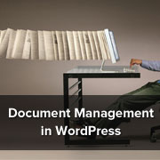 Document Management in WordPress