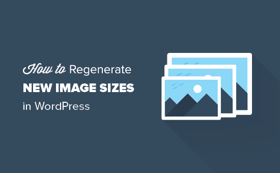 How to regenerate thumbnails and new image sizes in WordPress