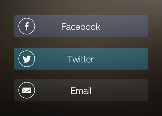 Login to Pressgram using Facebook, Twitter, or email