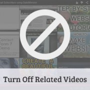 How to Turn Off Related YouTube Videos in WordPress