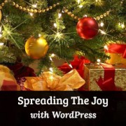 How to spread the holiday spirit with WordPress