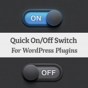how to quickly activate or deactivate WordPress plugins