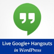 How to Embed a Live Google Hangout Session in WordPress