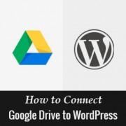 How to Connect Google Drive to WordPress Media Library