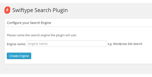 Provide a name for your search engine