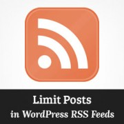 How to Limit the Number of Posts Displayed in RSS Feed