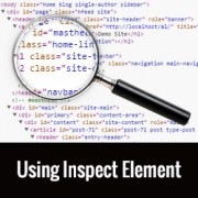 Basics of Inspect Element: Customizing WordPress for DIY Users