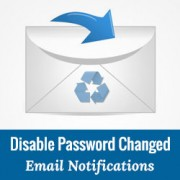 How to Disable Password Changed Email Notifications in WordPress