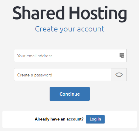Create a DreamHost account to get your discount