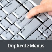 How to Create a Duplicate Menu in WordPress with One Click