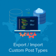 Export and Import Custom Post Types in WordPress