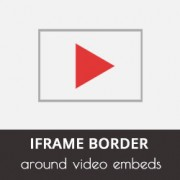How to Add an iframe Border Around a Video Embed