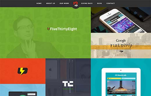 great thesis wordpress examples