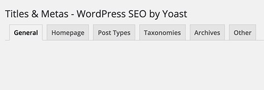 Yoast WordPress SEO - Title and Metas