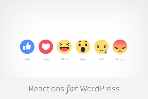 Adding Facebook Type Reactions for WordPress Blog Posts