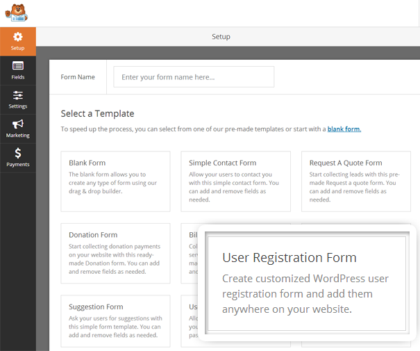 how to create new page templates for wordpress