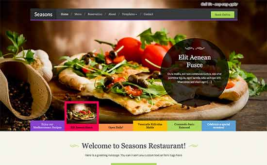 19 Best WordPress Restaurant Themes (2017)