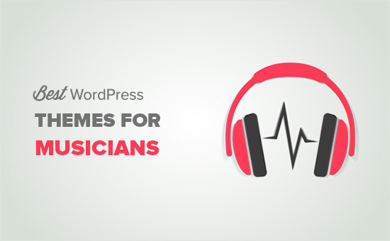 Best WordPress themes for musicians and bands