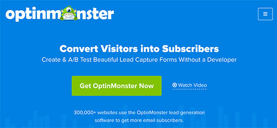 Sign up for OptinMonster