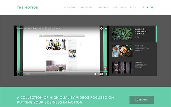 25 Best WordPress Video Themes 2017