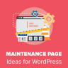 Six types of Maintenance Pages? Which one Works for You