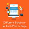 Display Different Sidebar for Each Post and Page for WordPress