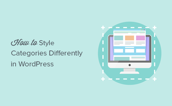 How to style categories differently in WordPress