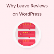 How and Why You Should Leave Reviews on WordPress