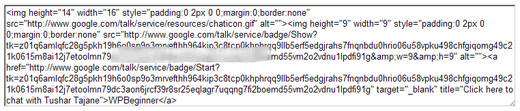 Google Badge Code