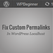 How To Enable Custom Permalinks In WordPress Local Server Environment