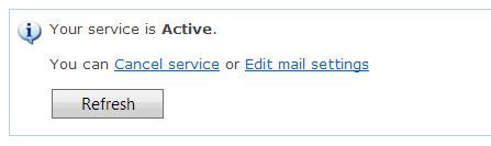 DNS Service Status