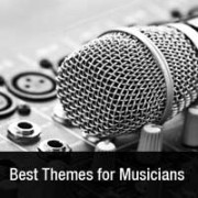 Best WordPress Themes for Bands and Musicians 2013