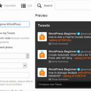 How to Show Selective Tweets in WordPress