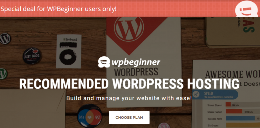 Exclusive SiteGround discount for WPBeginner users