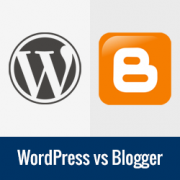 WordPress vs. Blogger – Which one is Better? (Pros and Cons)