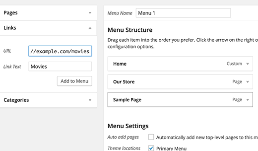 Adding custom post type archive page to navigation menu in WordPress