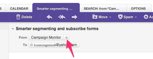 Yahoo White Listing