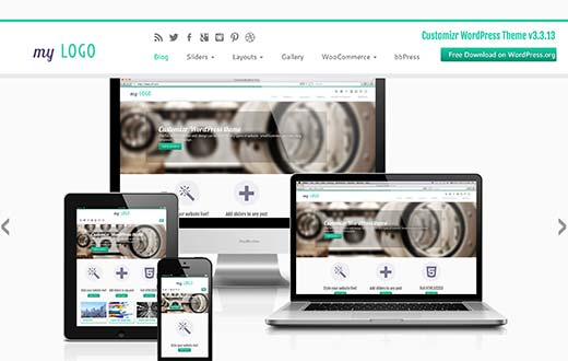 23 best free wordpress business themes customizr is one of the most popular and highly customizable wordpress business theme it is fully responsive and mobile friendly flashek