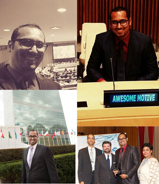 Syed at United Nations