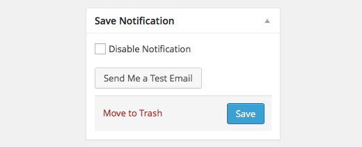 Better WordPress Notifications - Send Test Email