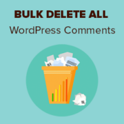 How to Easily Bulk Delete All WordPress Comments