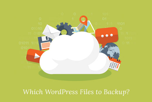 Which WordPress files to backup