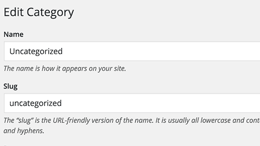 Category Uncategorized  >> How To Rename The Uncategorized Category In Wordpress