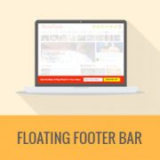 "How to Create a ""Sticky"" Floating Footer Bar in WordPress"