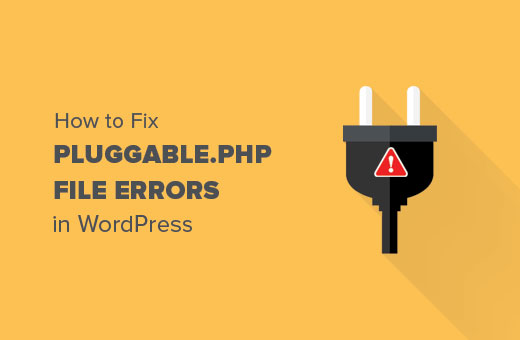 How to Fix Pluggable php File Errors in WordPress